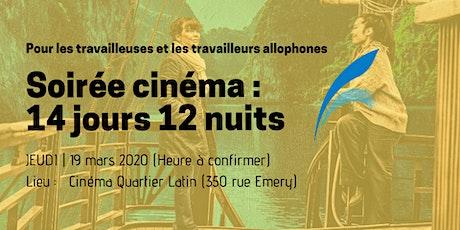 Soirée Cinéma billets