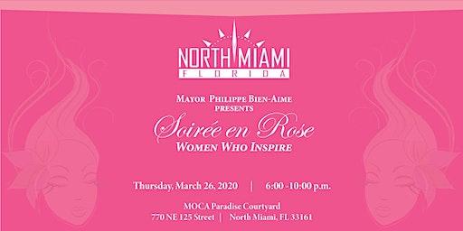 Mayor Philippe Bien-Aime Presents Soiree En Rose: Women Who Inspire
