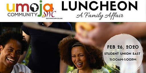 UMOJA LUNCHEON-A FAMILY AFFAIR