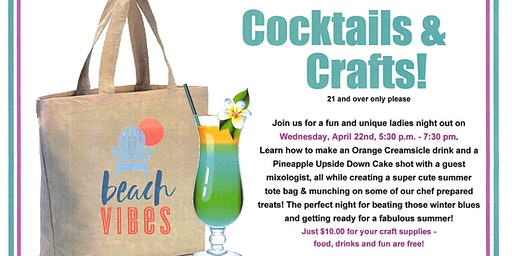 Cocktails & Crafts