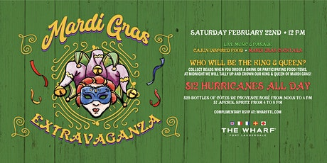 Mardi Gras Extravaganza at The Wharf Fort Lauderdale tickets