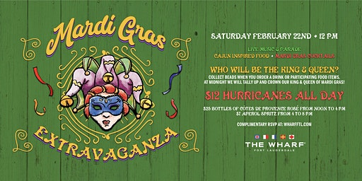 Mardi Gras Extravaganza at The Wharf Fort Lauderdale