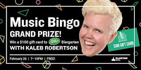 Music Bingo: Grand Prize Edition! tickets