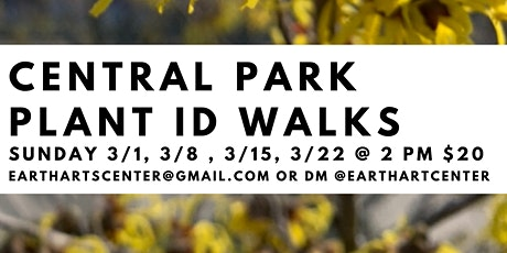 Central Park Plant Walks tickets
