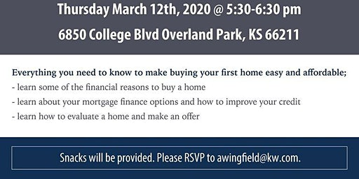 Home Buyer Workshop KC Metro