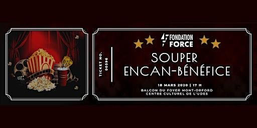 Souper encan-bénéfice Fondation FORCE
