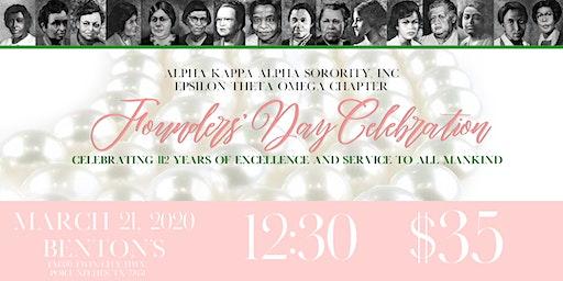 Epsilon Theta Omega Chapter  Founders Day Celebration