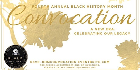 Fourth Annual Black History Month Convocation tickets