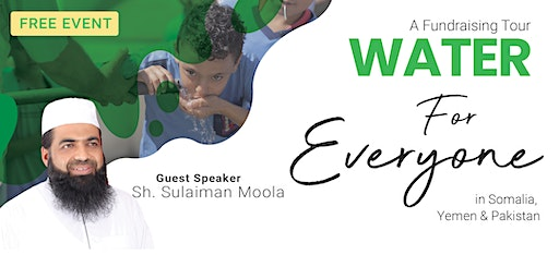 Water for Everyone Fundraising Tour