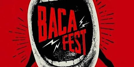 Bacafest apresenta: Greco e Comandante 22 ingressos