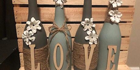 Vintage Love Wine Bottles Set tickets