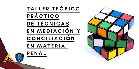 Taller teórico - práctico de técnicas en mediación y conciliación boletos