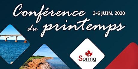 Conférence du printemps et AGA de Fenestration Canada tickets