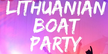 Lithuanian BOAT Party London tickets