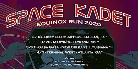Space Kadet, Quarx, Monk is King, Hunter on the Decks tickets
