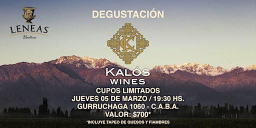 Degustación KALÓS WINES