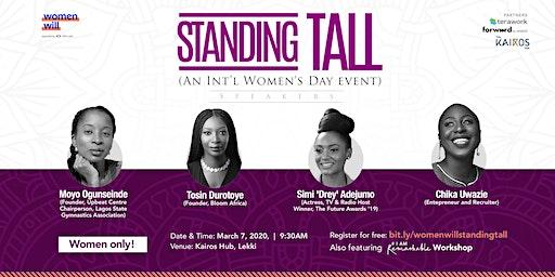 Standing Tall: An Intl. Women's Day Event