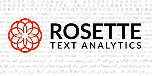 Rosette Technology Preview
