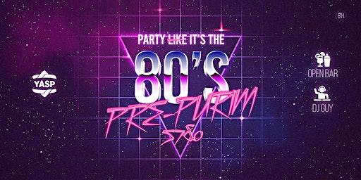 Party l̶i̶k̶e̶ it's the 80s!