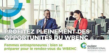Femmes entrepreneures : bien se préparer pour le rendez-vous du WBENC billets