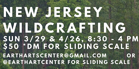 New Jersey Wildcrafting Trip tickets