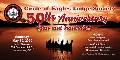 Circle of Eagles Lodge Society - 50th Anniversary Gala and Fundraiser tickets