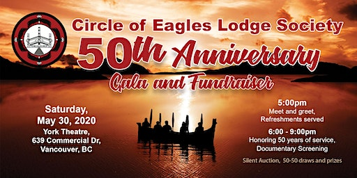Circle of Eagles Lodge Society - 50th Anniversary Gala and Fundraiser