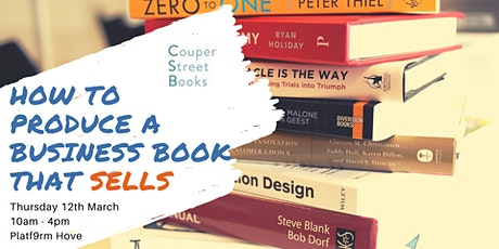 How to produce a business book that sells tickets