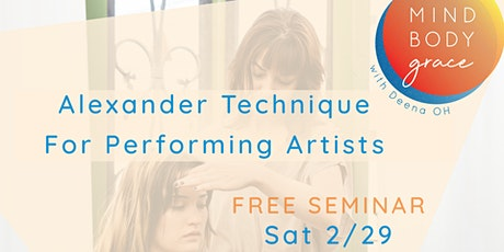 Alexander Technique For Performing Artists tickets