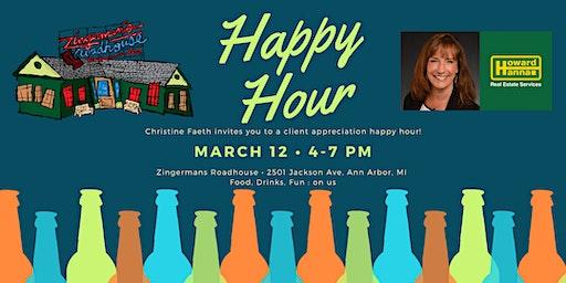 Christine Faeth Client Appreciation Happy Hour