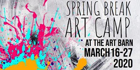 Spring Break Art Camp tickets