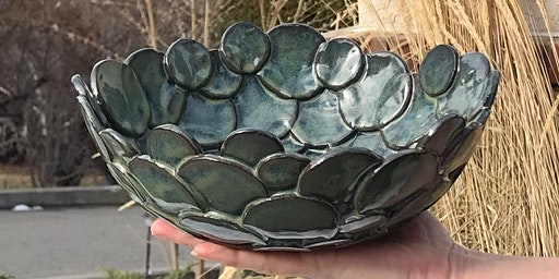 Pottery Class Project: Circle Bowl- One 3 hour Creative Class  March 19 or 20