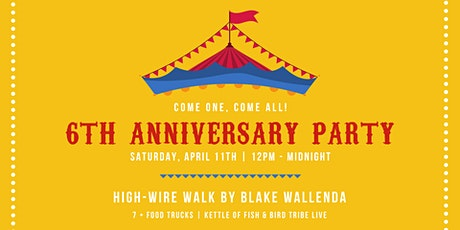 6 Year Anniversary Party tickets