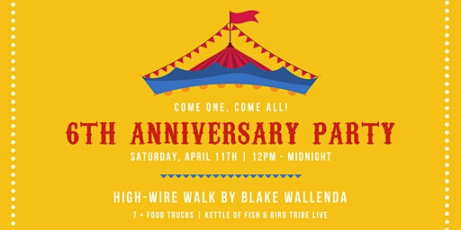 6 Year Anniversary Party