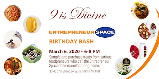 Entrepreneur Space's '9 is Divine' Birthday Party