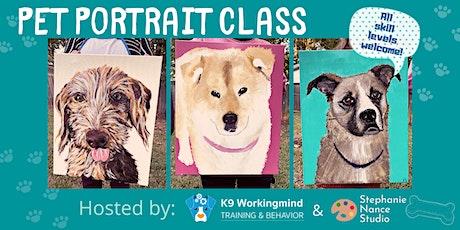 Pet Portrait Class at Tara's Ranch tickets