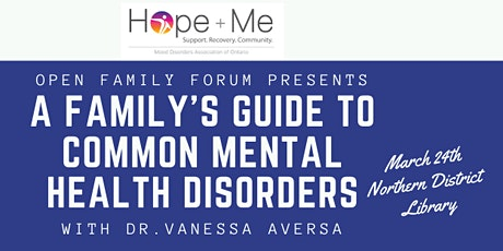 OFF Presents: A Family's Guide to Common Mental Health Disorders tickets