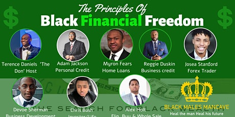 The Principles of  Black Financial Freedom tickets