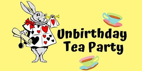 Unbirthday Tea Party tickets
