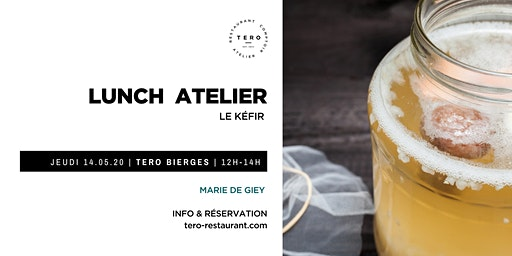 LUNCH ATELIER KÉFIR _ Printemps Bierges