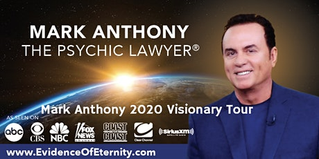 Mark Anthony the Psychic Lawyer®  An Evening of Spirit Communication tickets