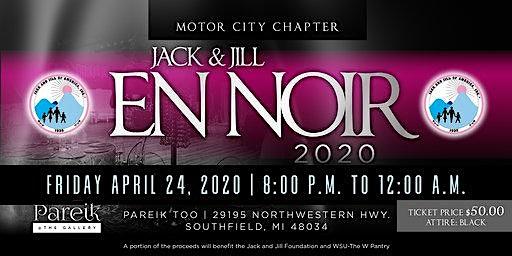 Motor City Chapter Presents Jack and Jill En Noir 2020
