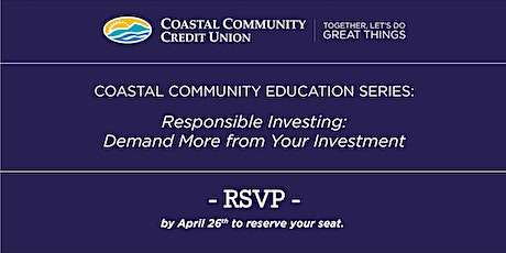Responsible Investing - Demand More from your investment tickets