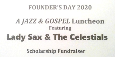 Lincoln University MO Founder's Day 2020: A Jazz  & Gospel Luncheon tickets