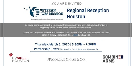VJM Regional Reception-Houston tickets