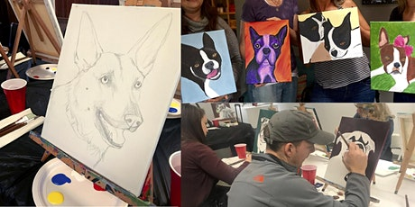 Paint Your Pet's Portrait Workshop with Jennifer Poncin tickets