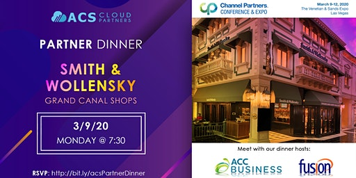ACS Cloud Partners Dinner with ACC & Fusion