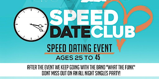 The Speed Date Club Presents: Joey C's  Speed Date and Mingle Party