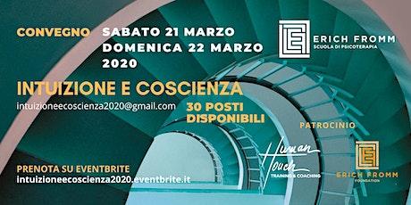 CONVEGNO INTUIZIONE E COSCIENZA 2020 biglietti