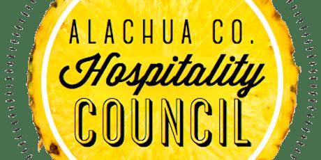 March - Alachua County Hospitality Council tickets